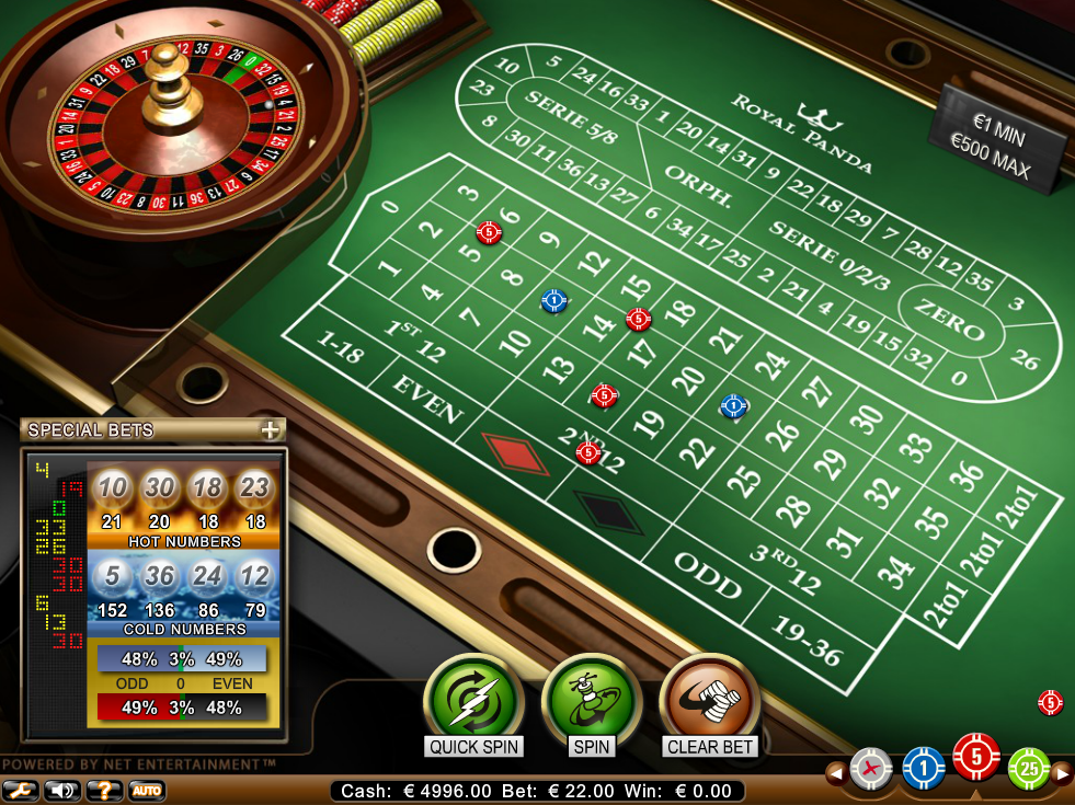 Roulette Professional Series Netent RP