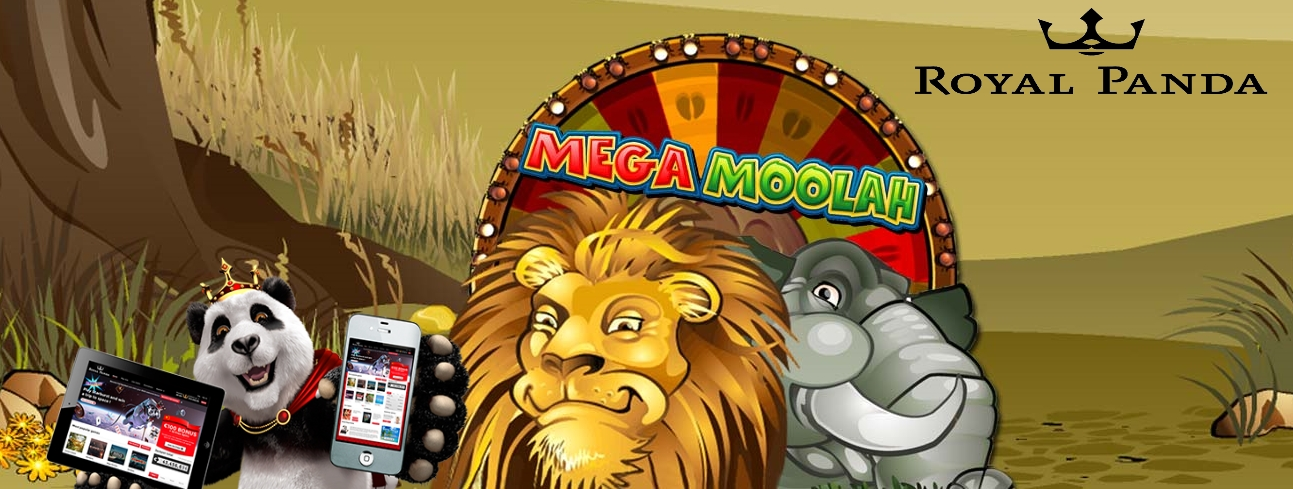 Mega Moolah Jackpot Royal Panda Casino