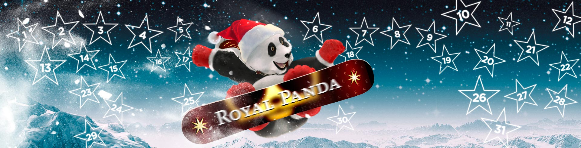 royal-panda-on-snowboard