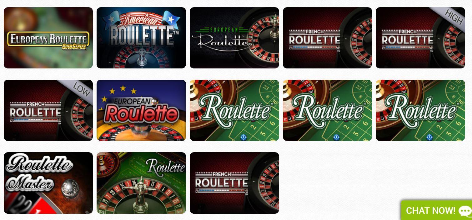Roulette Casilando